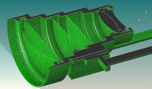 Integrated thermal, optical, and structural design analysis