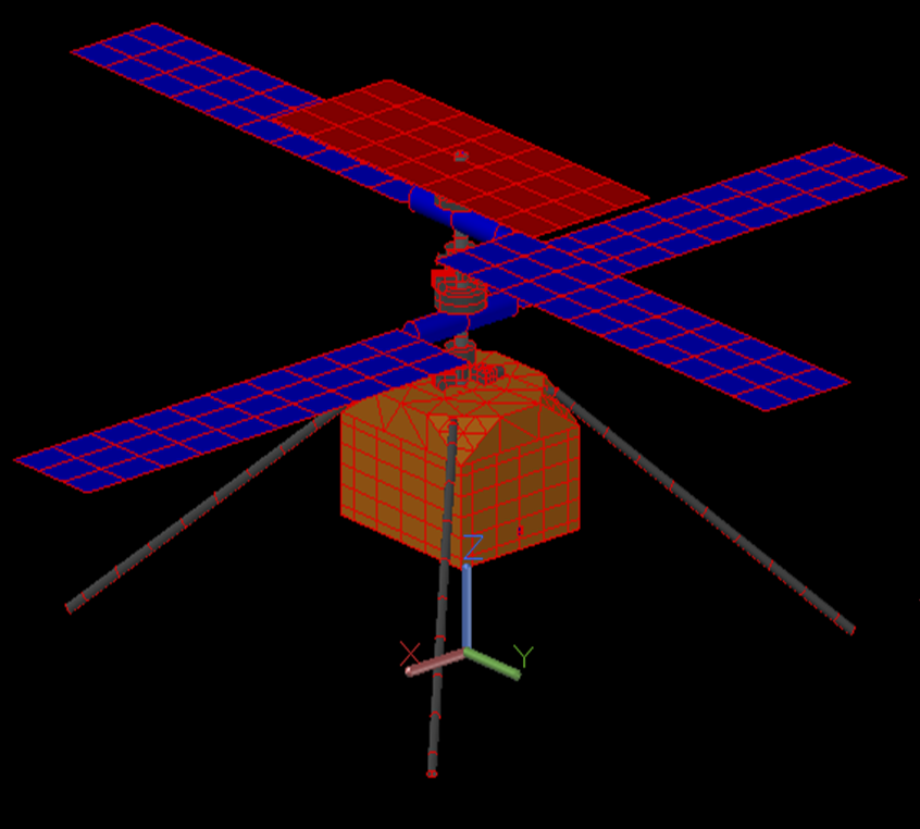 Thermal analysis of Mars 2020 Helicopter